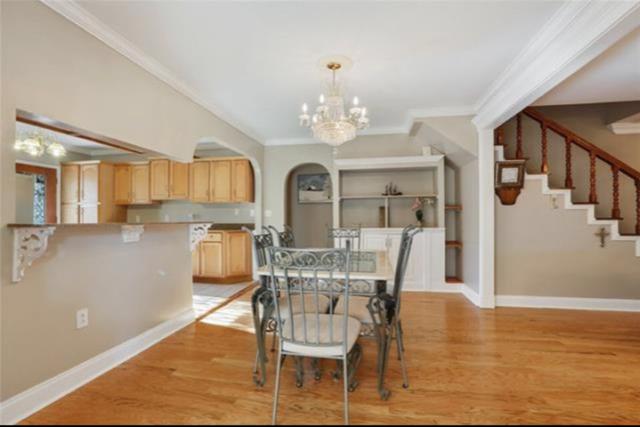 Prefinished flooring, Red Oak, in kitchen