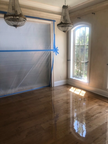 stain, sand, prefinished flooring
